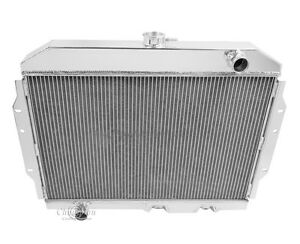 1968 1974 American Motors Amx 4 Row Aluminum Champion Radiator