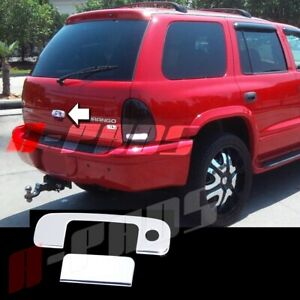 For Dodge Durango 1998 2003 Chrome Tailgate Cover With Keyhole