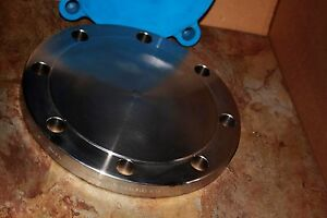 Stainless Steel 6 11 Round Pipe Blind Flange Ss 316l