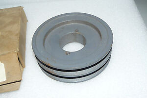 New Morse 2ak49h Double Groove Sheave Belt Pulley 1 1 2 Bore