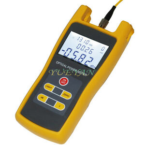 Handheld Optical Power Meter Jw3208 Laser Fiber Optic Tool Tester 70 To 6dbm