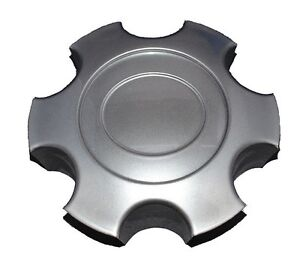 New Hyper Silver Wheel Hub Center Cap That Fits 2003 2007 Toyota Tundra Sequoia