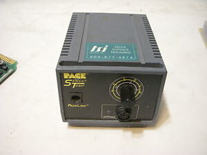 Pace Sensa Temp Soldering Station Pps 15a