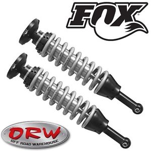 Fox Shox Front Coil Overs 0 2 Lift Fits 2008 2016 Toyota Cruiser 883 02 030