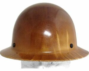 Msa Skullgard Fiberglass Fb Hard Hat With Ratchet Or Pin Lock Susp Natural Tan