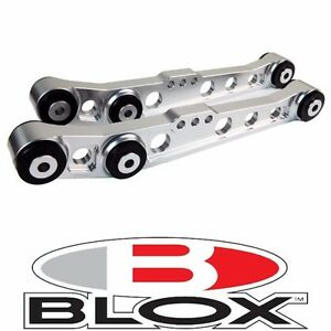 Blox Racing Rear Lower Control Arms Lca Polished 1994 2001 Acura Integra Dc2