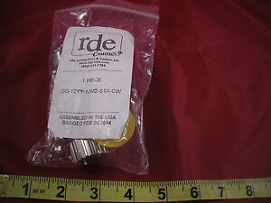 Rde Gg 12yy 12m2 sta cw Connector 12 pin Male female Gg12yy12m2stacw Nib New