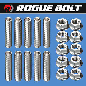 Ford Fe Valve Cover Stud Kit Bolts Stainless Steel 352 360 390 406 427 428