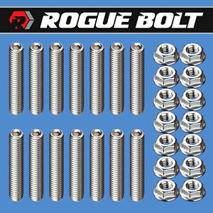 Bbf Valve Cover Stud Kit Bolts Stainless Steel Big Block Ford 429 460 F Series