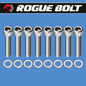 Sbc Vortec Intake Manifold Bolts 5 16 Stainless Small Block Chevy 327 350 400
