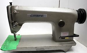 Consew Cn 3115r Free Motion Embroidery Industrial Sewing Machine Head Only