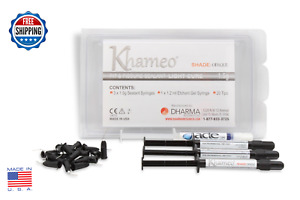 Dental Light Cure Pit And Fissure Sealant Kit Resin Bond Opaque 1 Quality