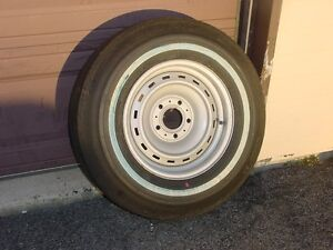 Nos 1978 Chevrolet Truck Rally Wheel Spare Bfg Tire J78 15 On 15 X 6 5 Wheel