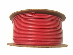 Ul1015 16awg red 500ft Red Stranded Copper Wire 16awg 600v