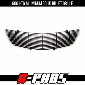 Chevy Impala 2000 2005 Black Upper Replacement Billet Grille Grill Insert