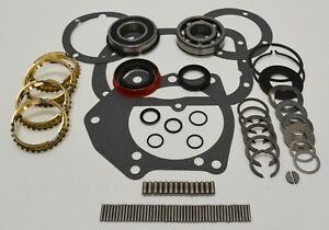 Saginaw 4 Speed Bearing Rebuild Kit With Syncros 1966 1985 Gm Bk115ws