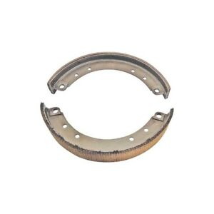 Model A Ford Brake Shoe Set New With Woven Linings 4 Pieces Front
