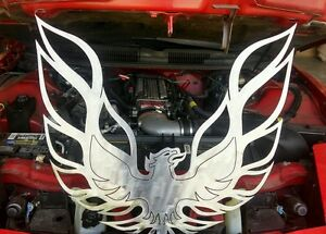 Phoenix Trans Am Firebird Ws6 Gta 2ftx2ft 14 Gauge Mild Steel Metal Wall Art
