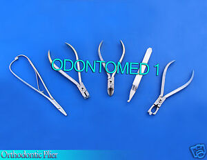 Orthodontic Posterior Plier Hard Wire Cutter Distal End Mathieu Bracket Remover