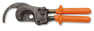 Cementex Rcc750 Hi Voltage Double insulated Ratcheting Cable Cutter Length 9