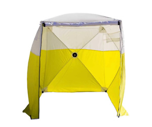 Pelsue 6510a Tent 10 x6 Ground Tent Model A 118 x118 Double Zipper Front Door