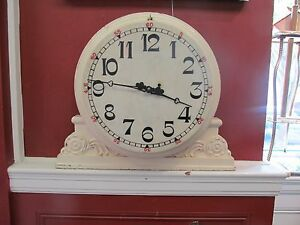 Clock 19th C Waltham Weight Driven Marble Face Industrial Regulator