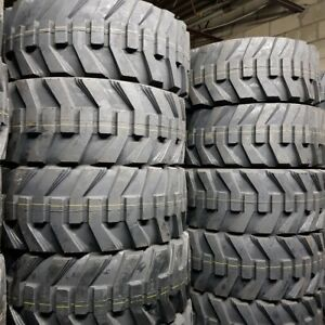 12x16 5 4 New Road Crew Tw171 12 16 5 14 Ply Skid Steer Tires Sks Rimguard