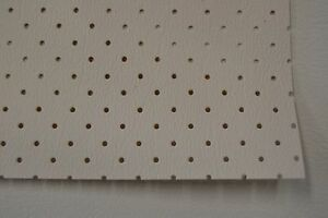 Ford Perforated Headliner Vinyl Cream White Material By The Yard Top Quality