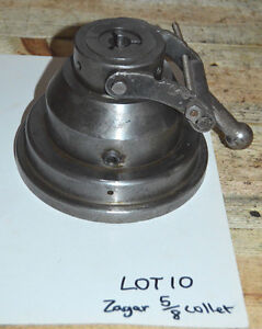 Zagar Manual Collet Fixture Indexer 6 3 4 Base