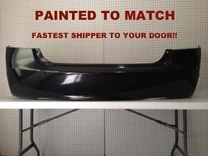 New 2006 2007 2008 2009 2010 2011 Honda Civic Sedan Rear Bumper Painted Ho11002