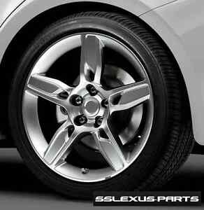Lexus Rc350 2015 2016 18 Staggered Prop 5 P5 F sport Wheels Oem Genuine