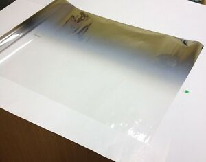 Solar Non Reflective 2 Tone Silver Grey Mirror Tint Window Film 20 X 10 Ft F 13