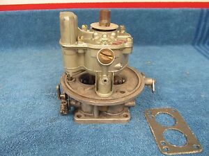 1949 50 s Lincoln Ford Holley 2 Barrel Teapot Carburetor Nice 515