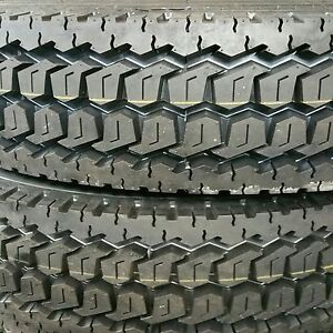 11r24 5 Drive Tires 4 Tires New Heavy Duty Road Warrior 16 Ply Truck Tires