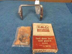 1951 Ford Passenger Car Fuel Door Lock And Guard Nice Nos Ford 515