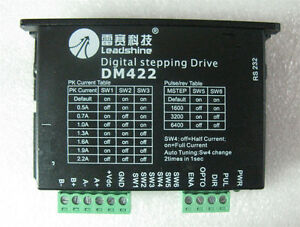Dm422 Leadshine Cnc Dsp Stepper Motor Drive Controller For Nema 14 15 17 Motor