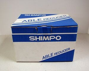 Shimpo Able Reducer Gearhead Vrl090010k519dd1600 Ratio 10 1