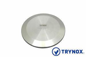 6 Sanitary Clamp Solid End Cap 304 Stainless Steel Trynox