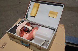 Vintage anatomical Training Anne Manikin Female Anatomic Anne Dummy Respiratory