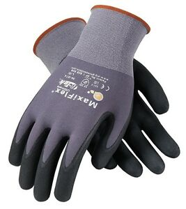 Pip Maxiflex Ultimate Nitrile Micro foam Coated Gloves Large 12 Pair 34 874 l