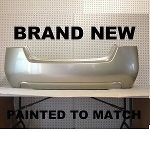 Fits New 2010 2011 2012 Nissan Altima Sedan Rear Bumper Painted To Match Ni110