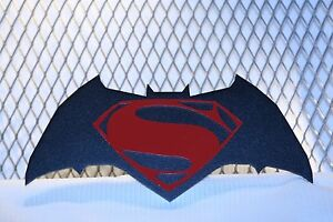 Trailer Hitch Cover Batman Superman New Free Ship
