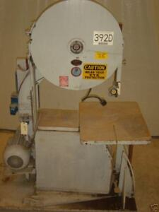 Moak Vertical High Speed Band Saw 17 Cut X 35 Throat