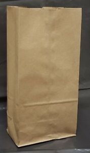 Paper Shopping Bags 4 000pcs Size 8 Brown Paper grocery Free Shipping