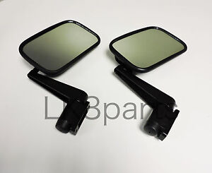 Land Rover Defender 90 110 Mirror Arm Assembly Set Of 2 Mtc5217 New