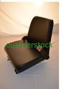 Forklift Seat Universal Vinyl New Cheap Freight With Seat Belt