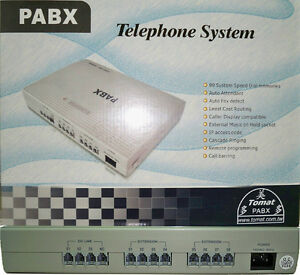 Pabx pbx 3 Co Lines 8 Extensions Free Shipping