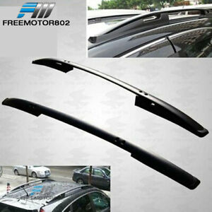 For 07 11 Honda Crv Cr V Roof Rack Rails Side Bars Oe Factory Style Black