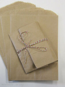 1000 Brown Kraft Paper Bags 5 X 7 5 Good For Candy Buffets Merchandise