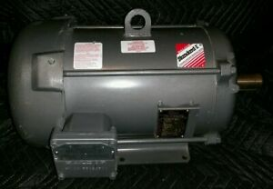 5 Hp Baldor Standard efficient Industrial Motor 1180rpm 230 460v Cat No M7040t